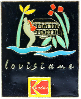 Kodak Pin's Louisiane