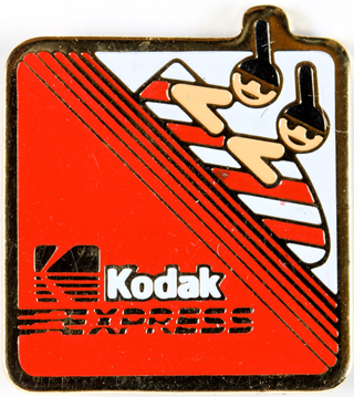 Kodak Pin's Kodak Express Luge