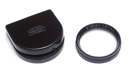 Carl Zeiss Iena Bonnette Distar 1,5 x 42