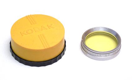 Kodak Filtre jaune X2