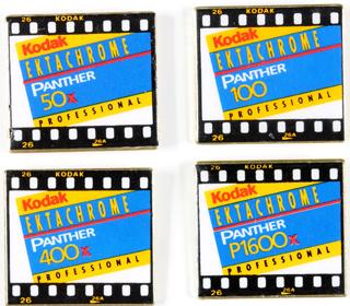 Kodak 4 Pin's Films Panther 135
