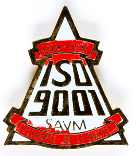 Kodak Pin's Kodak le SAVM au norme ISO 9001