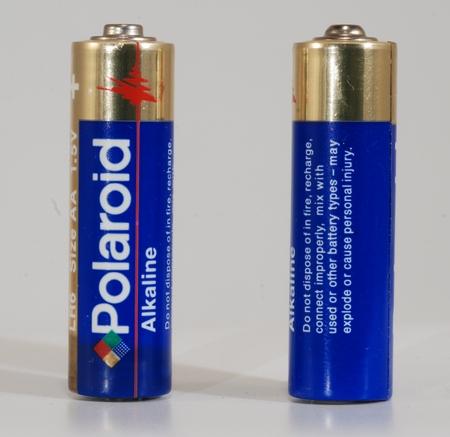 Polaroid Piles LR6 AA