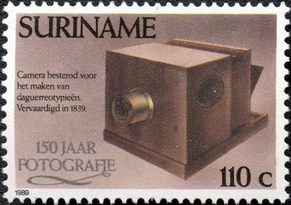 Poste Suriname Appareil photo