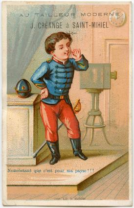 Au Tailleur Moderne Image publicitaire