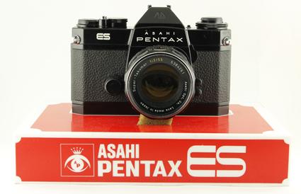 Pentax Présentoir de vitrine pour Pentax ES