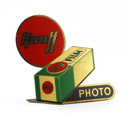 Hauff Photo Plaque métallique