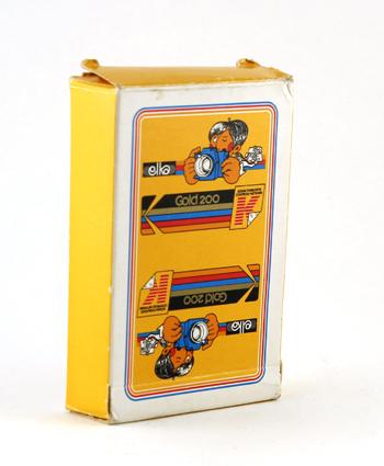 Kodak Jeu de carte Gold 200