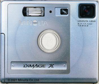 Minolta CD de publicité Dimage X
