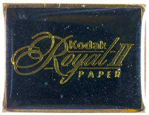 Kodak Pin's Royal II paper