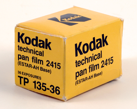 Kodak Technical Pan Film 2415 (ESTAR A-H base)