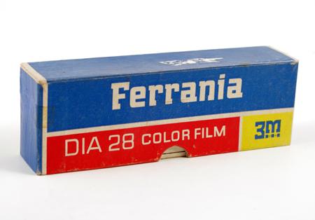 Ferrania 3M Argentina Boîte