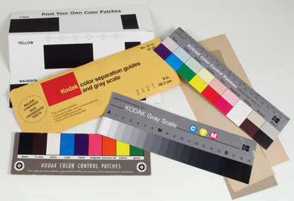 Kodak Color separation guides and gray scale