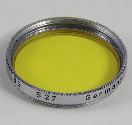 Zeiss Ikon Filtre jaune 27 mm