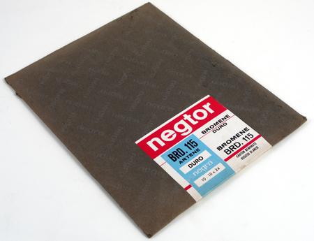Negra Industrial Negtor Bromene Papier photographique