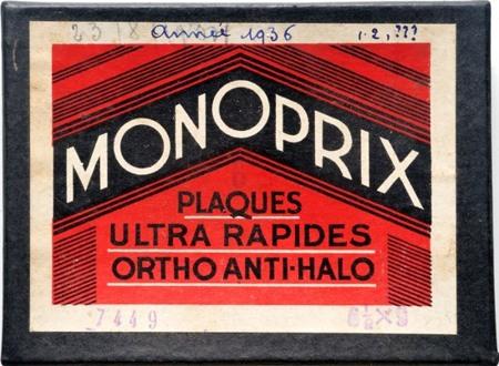 Monoprix Plaques Ultra Rapides Ortho Anti-Halo