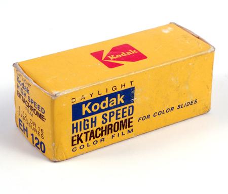 Kodak High Speed Ektachrome EH 120