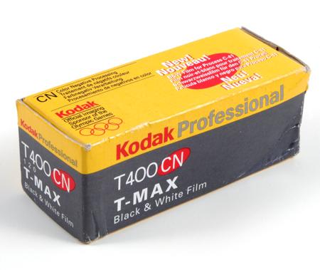 Kodak T400 CN T-Max