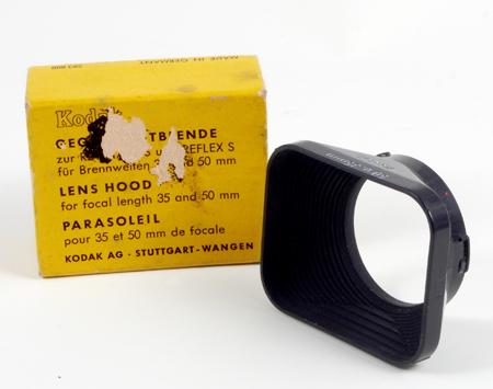 Kodak Pare-soleil pour objectifs de 35 et 50 mm