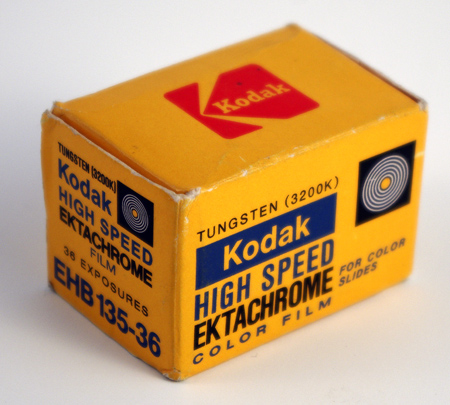 Kodak High Speed Ektachrome Tungstène