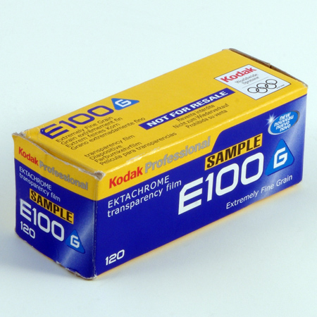 Kodak Ektachrome Professional E100 G
