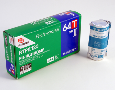 Fuji Fujichrome 64T Type II Professional RTPII