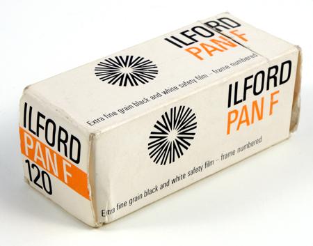 Ilford Pan F 120