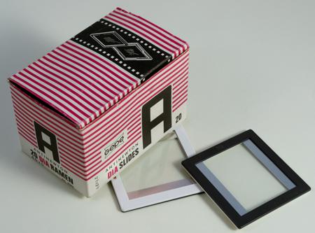 Gepe Caches avec verres pour diapositives 4,5 x 6 cm