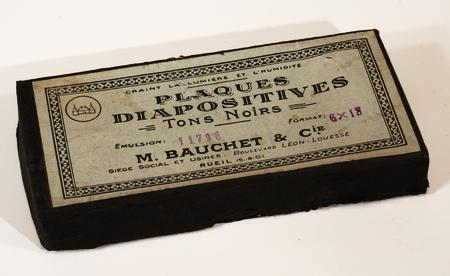 Bauchet Boite de 12 plaques 6 x 13 Diapositives
