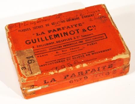 Guilleminot Boite de 12 plaques 6,5 x 9