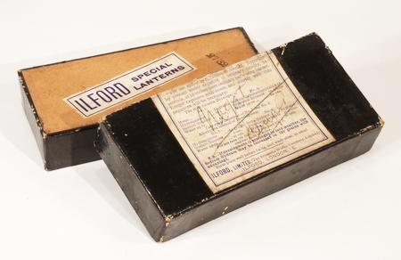 Ilford Boite de 12 plaques 6 x 13