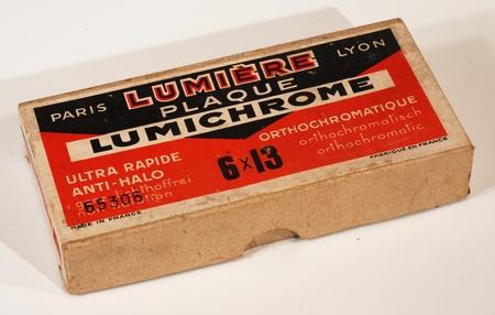 Lumière Boite de 12 plaques 6 X 13