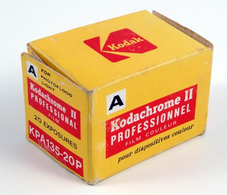 Kodak Kodachrome II KPA 135 20 poses