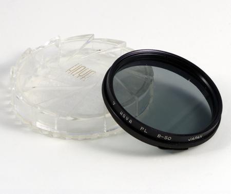 Hoya Filtre polarisant PL B-50