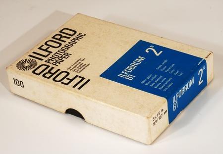Ilford Boite de 100 feuilles papier