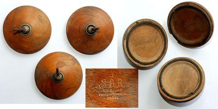 S.A.R. (Le) Patins de bois pour trépied d'appareil photo