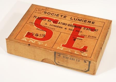 Lumière Boite de 12 plaques 9 x 12