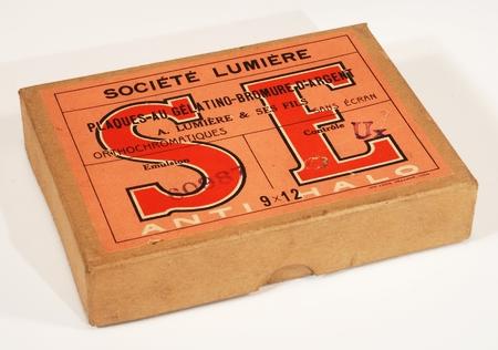 Lumière & Jougla Boite de 12 plaques 9 x 12