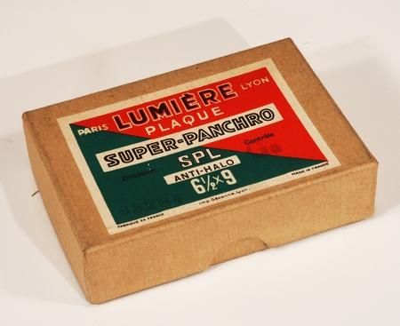 Lumière Boite de 12 plaques 6 1/2 x 9