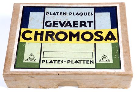 Gevaert Chromosa plaques 9 x 12 cm