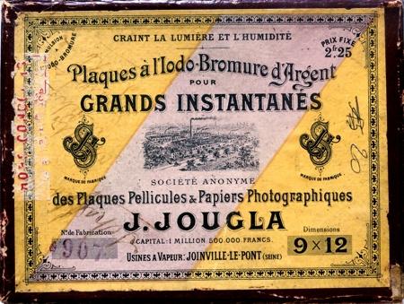 Jougla Plaques à l'Iodo-Bromure d'Argent