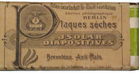 Agfa Plaques sèches