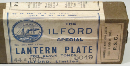 Ilford The Ilford special Lantern Plate for black tones