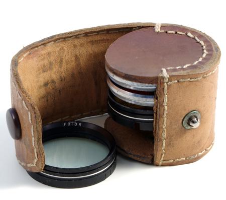 Inconnue Etui pour filtres ou bonnettes