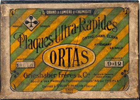 Grieshaber Frères & Cie Plaques Ultra-Rapides Ortas