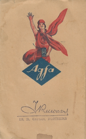 Agfa Pochette retour de laboratoire