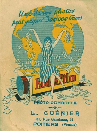 Kodak Pochette retour de laboratoire