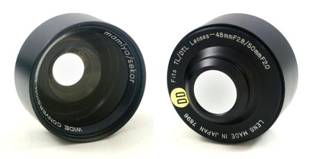 Mamiya Wide Conversion Lens