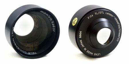 Mamiya Tele Conversion Lens