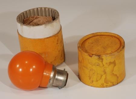 Inconnue Lampe jaune